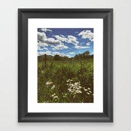 Farm •Appalachian Trail Framed Art Print