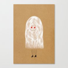 Glam Ghost Canvas Print