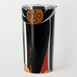 "Art Deco Illustration ""Monaco Fashion"" Travel Mug"
