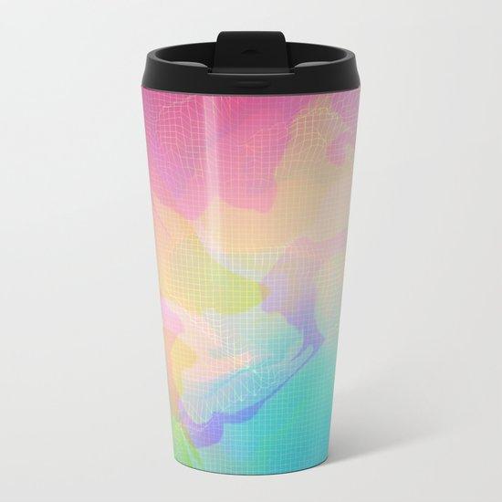 Glitch 10 Metal Travel Mug