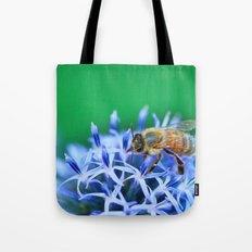 Bee & Flower Tote Bag