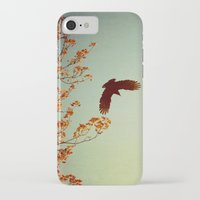 wings iPhone & iPod Cases featuring Wings by Alicia Bock