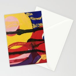 Swirling a chasm Stationery Cards