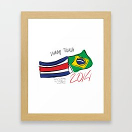 VAMOS TIQUICIA! Framed Art Print