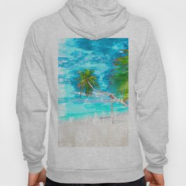 Tropical Sun and Sea Vibe - For Summer & Travel Lovers Hoody