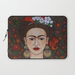 Frida with butterflies Laptop Sleeve
