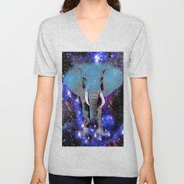 Elephant #6 Unisex V-Neck