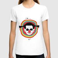 clown T-shirts featuring CLOWN by julianesc