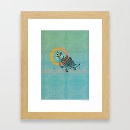Lapras Framed Art Print