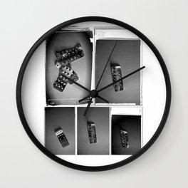 M.D.R. dark Wall Clock