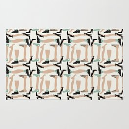 Walk about - Fabric pattern Rug