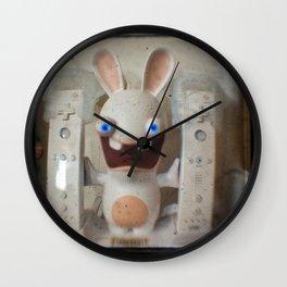 Rayman Raving Rabbids Wall Clock