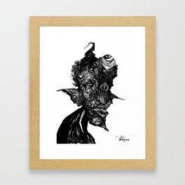Jinn Framed Art Print