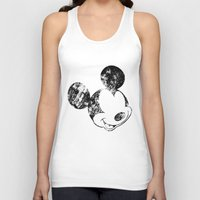grunge Tank Tops featuring Mickey Grunge by Bright Enough💡