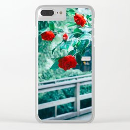 A Touch of Spring Clear iPhone Case