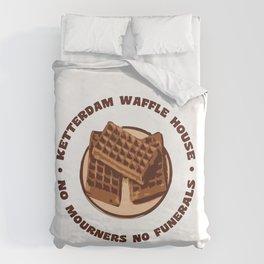 Ketterdam Waffle House Duvet Cover