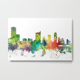 Austin Texas Skyline SP Metal Print
