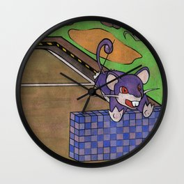 Poke #019 Wall Clock
