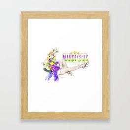 Mardi Gras Framed Art Print