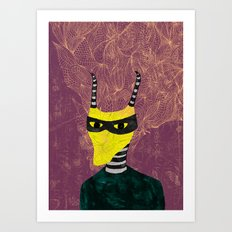 no deer Art Print