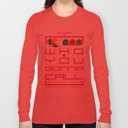 pacman ghostbuster Long Sleeve T-shirt