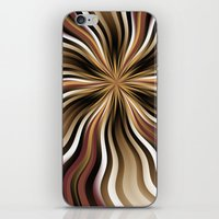 graphic design iPhone & iPod Skins featuring Graphic Design by gabiw Art