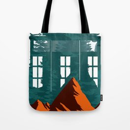 Window From Mountains Tote Bag