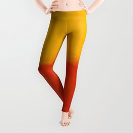 1956 Orange and Yellow by Mark Rothko HD Leggings
