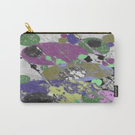 Stack Em Up! - Abstract, textured, pastel coloured artwork Carry-All Pouch