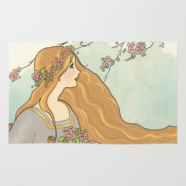 Guinevere Had Golden Hair Rug