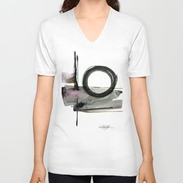 Enso Abstraction No. 112 by Kathy morton Stanion Unisex V-Neck