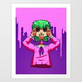 Don't Lose Your Head, Etc.  Art Print