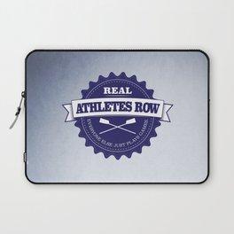 Real Athletes Row Laptop Sleeve