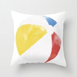 Beach Ball Classic Throw Pillow