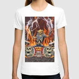 HEAVY METAL ZOMBIE DRUMMER T-shirt