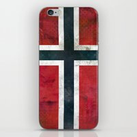 norway iPhone & iPod Skins featuring Norway by Arken25