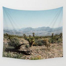 Nevada Desert Scene Wall Tapestry