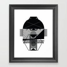 Make Things Slithy Different_the Mask Framed Art Print