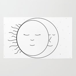 The Moon and Sun are One Rug