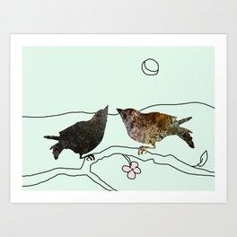 Goldfinches Art Print