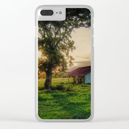 Old Shed Clear iPhone Case
