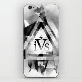 iPhone 4S Print - White iPhone Skin