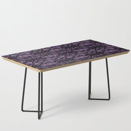 Bats and Beasts (Purple) Coffee Table