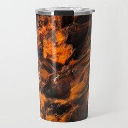 Obsidian Rock - Lava Flow Travel Mug
