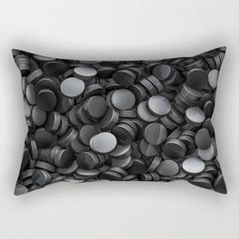 Hockey pucks Rectangular Pillow