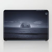 moonrise iPad Cases featuring Moonrise by Rhianna Power
