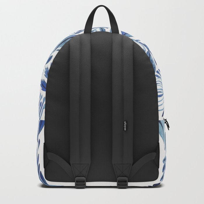 indigo scatter Backpack