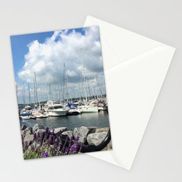 Mediterrane Harbor Stationery Cards
