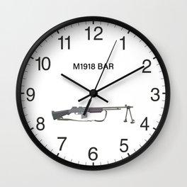 M1918 BAR Wall Clock