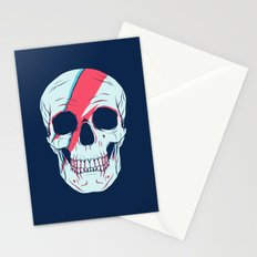 Bowie Skull Stationery Cards